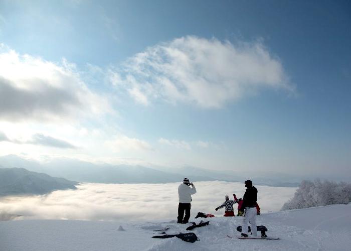 高社山夜间濑滑雪场